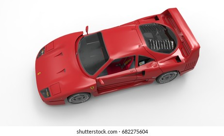 3d model of a very cool car
