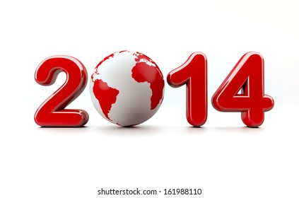 3d new year 2014