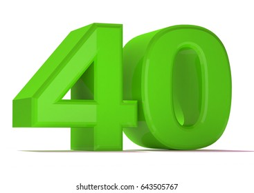 3d number collection-40