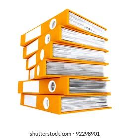 3d office folders