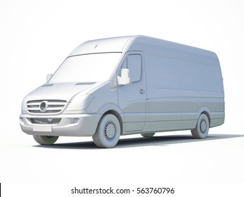 3d Postal Van, Express, Fast Delivery, 3d White Delivery Van Icon, Transporting Service, Freight Transportation, Packages Shipment, International Logistics, 3d Postal Van, 3d Home Delivery Sign
