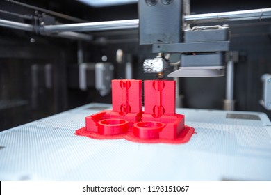 3D printer is working
