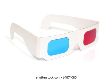 3D Red and Cyan Glasses