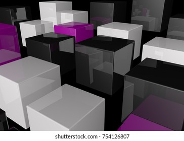 3d render of abstract background  illustration