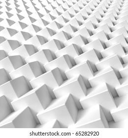 3D render bitmap  - cube structure