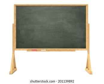 3d render of a blackboard