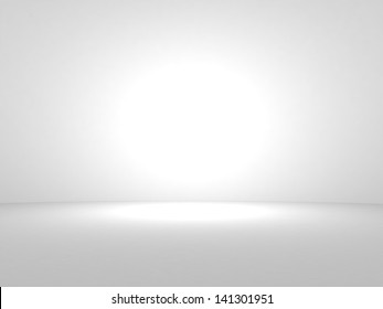 3d render blank trade show booth for designers. Background empty room with space for your text and picture.