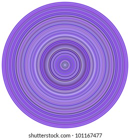 3d render concentric pipes tube abstract magenta purple backdrop
