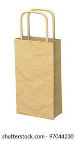 3d render of hand bag
