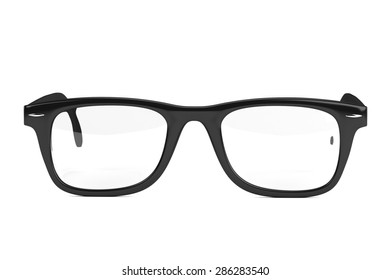 3d render of hipster glasses