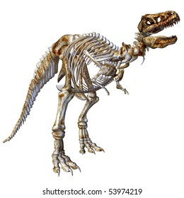 Tyrannus saurus rex images stock photos vectors shutterstock 3d render a skeleton of the dinosaur t rex than illustration thecheapjerseys Gallery