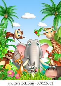 3d rendered illustration of wild animal