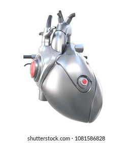 3d rendered, medically accurate illustration of an artificial heart