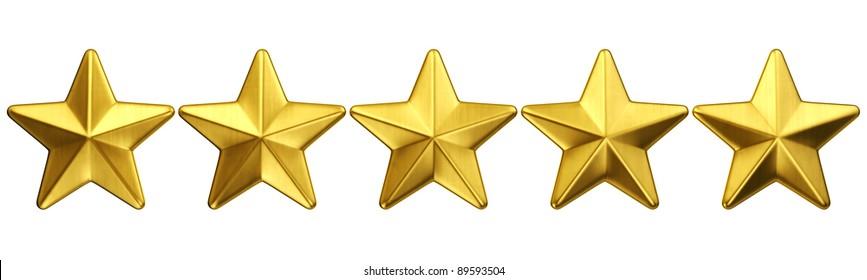 Five Gold Stars Images, Stock Photos & Vectors   Shutterstock - photo #19