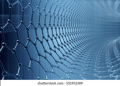 Nanoparticle stock images royalty free images vectors shutterstock 3d rendering abstract nanotechnology hexagonal geometric form close up concept graphene atomic structure toneelgroepblik Images