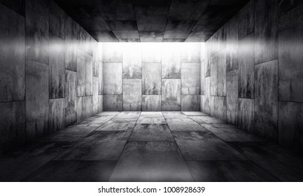 3D rendering of an background