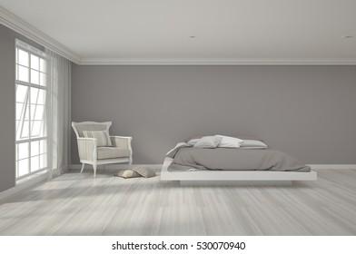 3d rendering of bedroom