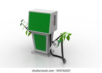 3d rendering of Bio fuel