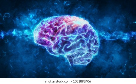3d rendering of a brain