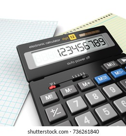 3d rendering calculator for mathematical calculations and accounting