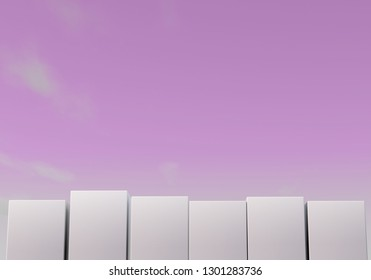 3d rendering cube-box background
