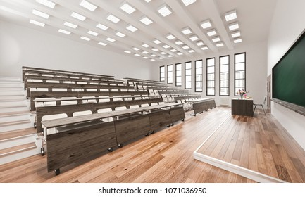 3d rendering of Empty Auditorium Rendering