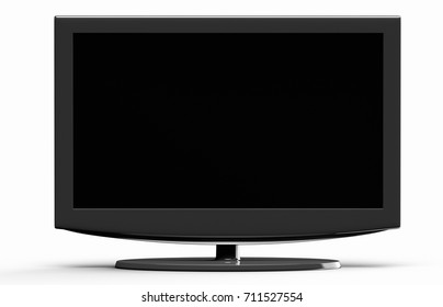 3D rendering flat screen TV