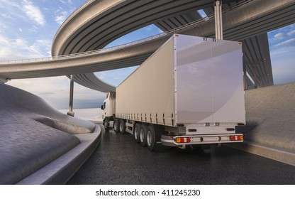 3D rendering of generic transportation concept