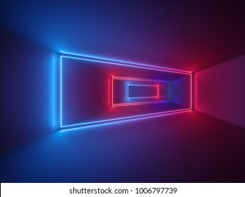 3d rendering, glowing lines, neon lights, abstract psychedelic background, ultraviolet, product showcase template, vibrant colors, lasershow