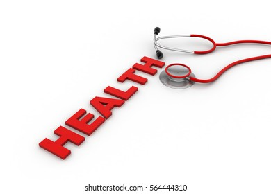 3D rendering of Health care and medical concept