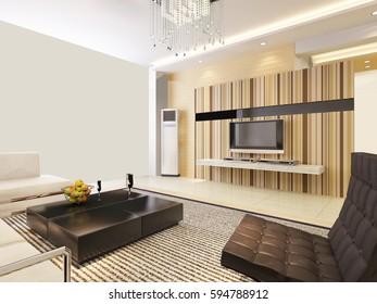 3d rendering home interior