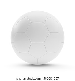 3D rendering Isolated Soccer Ball with white background