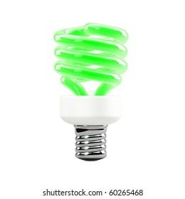 3d rendering - light bulb