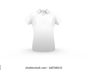 3d rendering of man shirt for use as a template or sales display
