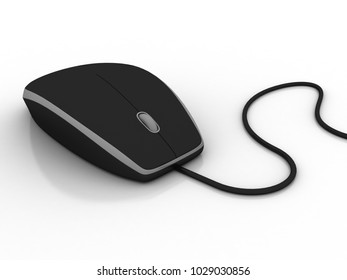 3d rendering mouse