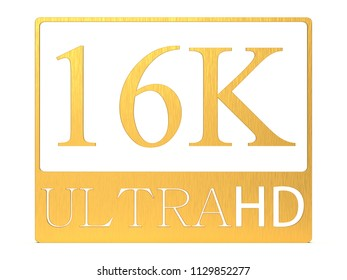 The 3d rendering of nice view of ultra HD 16K picture
