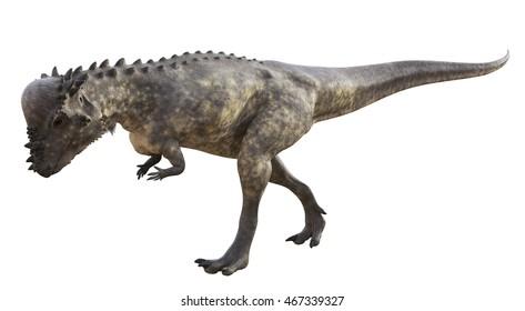 3D rendering of Pachycephalosaurus.