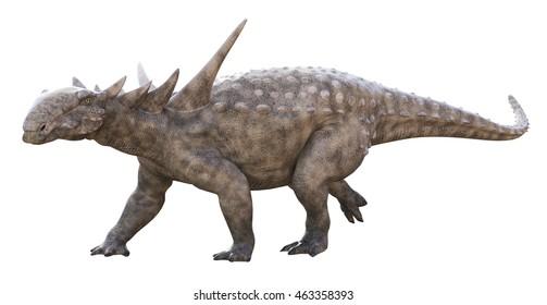 3D rendering of Sauropelta.