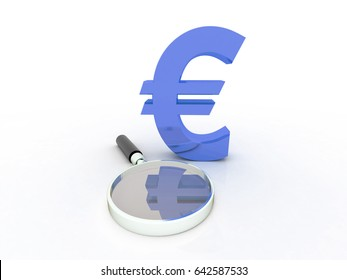 3D rendering search euro symbol