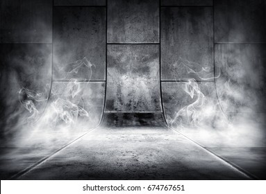 3D rendering of an smoky background