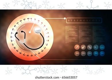3d rendering stethoscope