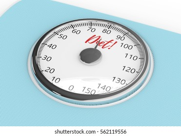 3d rendering of weight scale