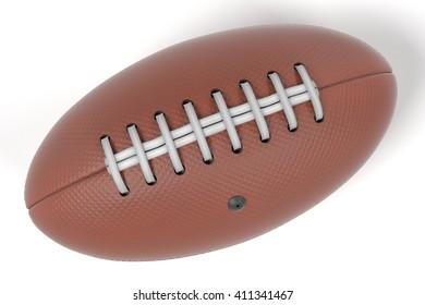 3d renderings of football ball