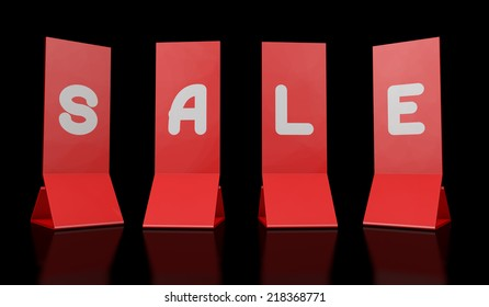 3d sale red color nobody label