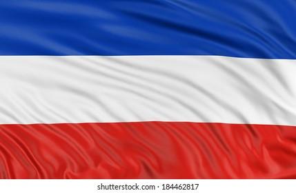 3D Schleswig-Holstein Flag