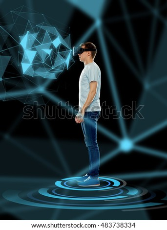 d2b6429383c 3 D Technology Gaming Augmented Reality Cyberspace Stock Photo (Edit ...