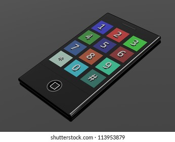 3D touchscreen mobile phone