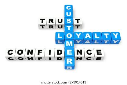 3D. Trust, Customer, Loyalty.