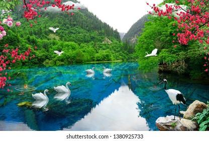 Waterfall Wallpaper Images Stock Photos Vectors Shutterstock