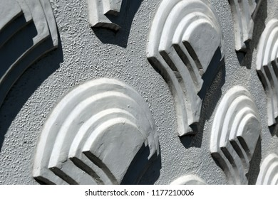 3-dimensional pattern on a wall